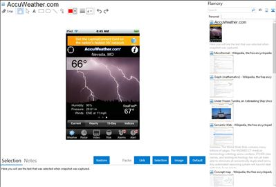 AccuWeather.com - Flamory bookmarks and screenshots