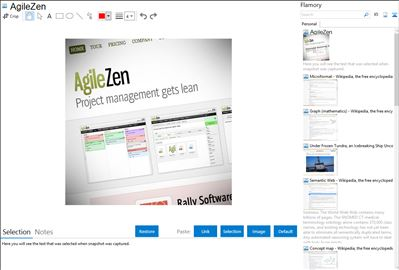 AgileZen - Flamory bookmarks and screenshots