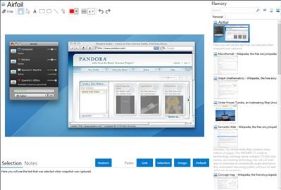 Airfoil - Flamory bookmarks and screenshots
