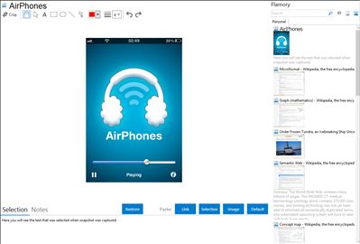 AirPhones - Flamory bookmarks and screenshots