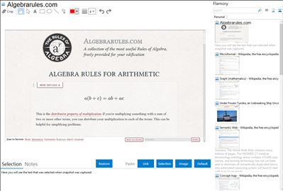 Algebrarules.com - Flamory bookmarks and screenshots