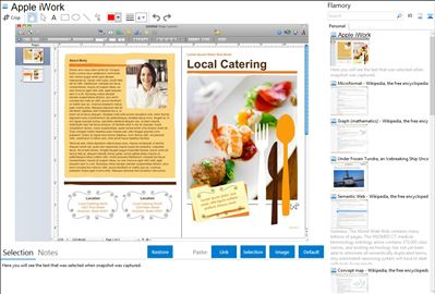Apple iWork - Flamory bookmarks and screenshots