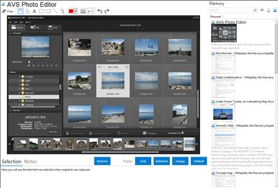 AVS Photo Editor - Flamory bookmarks and screenshots