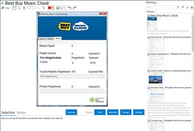 Best Buy Music Cloud - Flamory bookmarks and screenshots