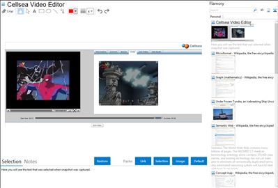 Cellsea Video Editor - Flamory bookmarks and screenshots