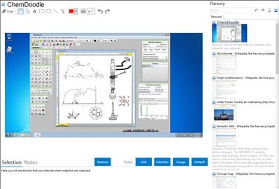 ChemDoodle - Flamory bookmarks and screenshots