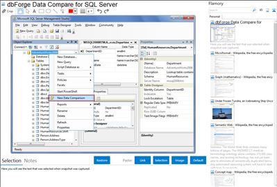 dbForge Data Compare for SQL Server - Flamory bookmarks and screenshots