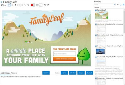 FamilyLeaf - Flamory bookmarks and screenshots