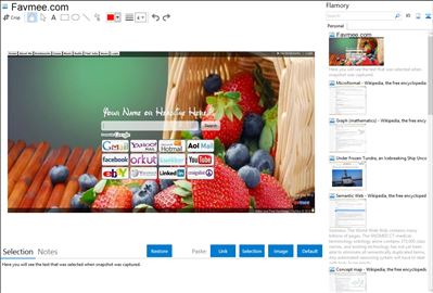 Favmee.com - Flamory bookmarks and screenshots