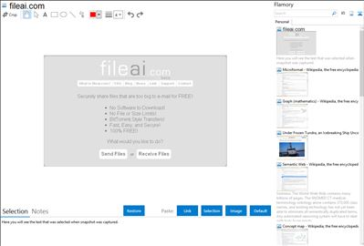 fileai.com - Flamory bookmarks and screenshots