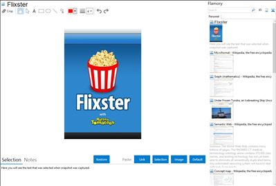 Flixster - Flamory bookmarks and screenshots