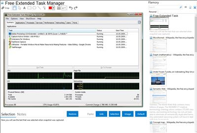 Free Extended Task Manager - Flamory bookmarks and screenshots