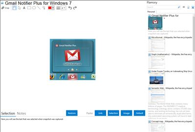 Gmail Notifier Plus for Windows 7 - Flamory bookmarks and screenshots