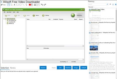 iWisoft Free Video Downloader - Flamory bookmarks and screenshots