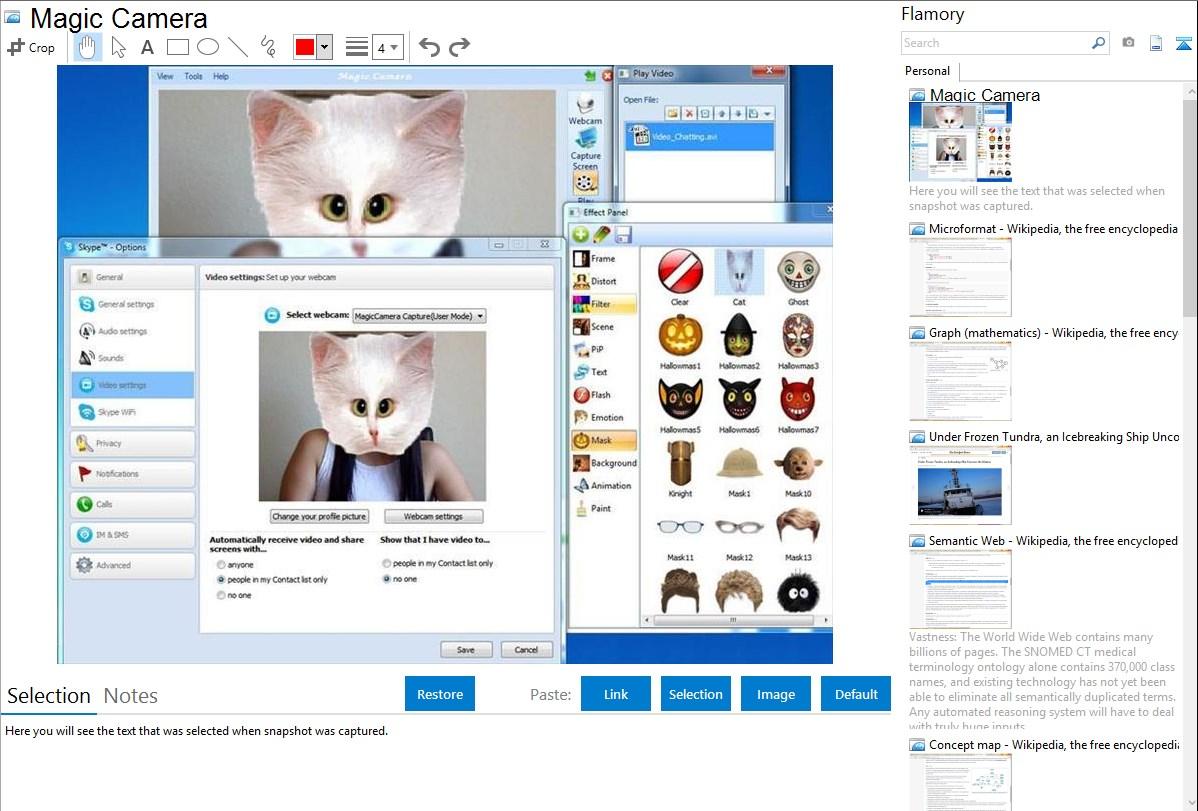 Программа Web Camera Recorder 09