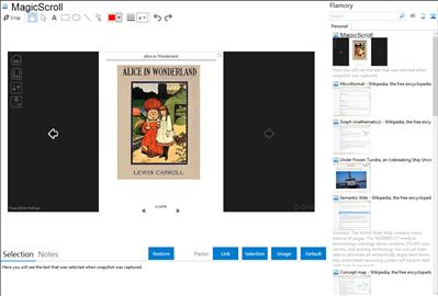 MagicScroll - Flamory bookmarks and screenshots