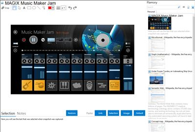 MAGIX Music Maker Jam - Flamory bookmarks and screenshots