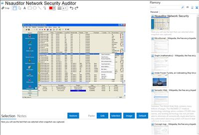 Nsauditor Network Security Auditor - Flamory bookmarks and screenshots