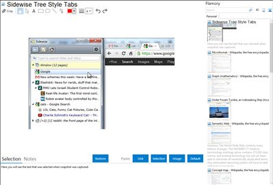 Sidewise Tree Style Tabs - Flamory bookmarks and screenshots
