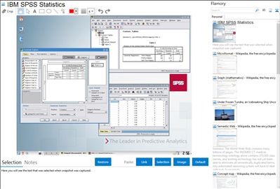 IBM SPSS Statistics - Flamory bookmarks and screenshots