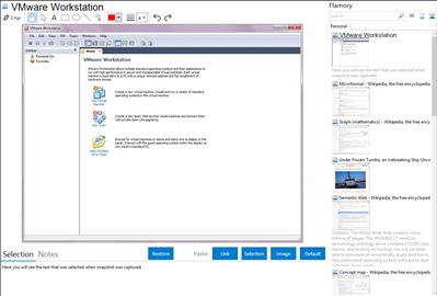 VMware Workstation - Flamory bookmarks and screenshots