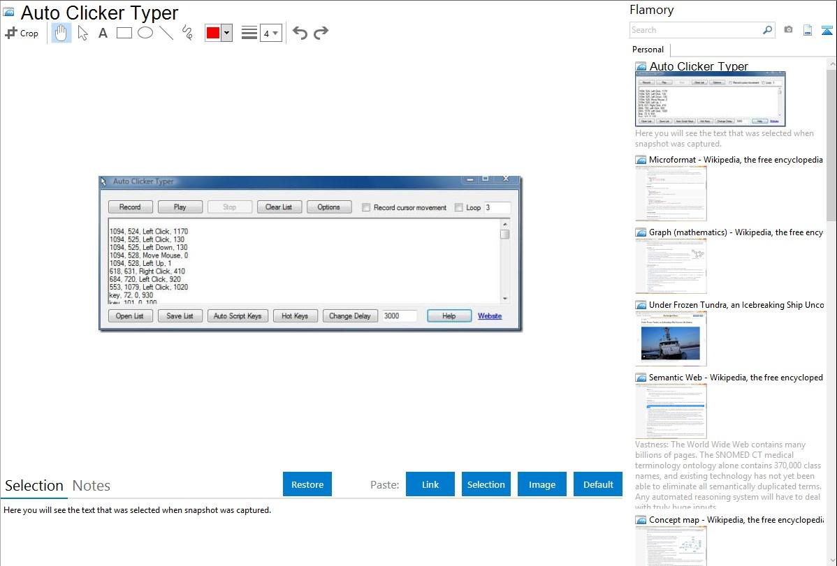 Auto Click Script